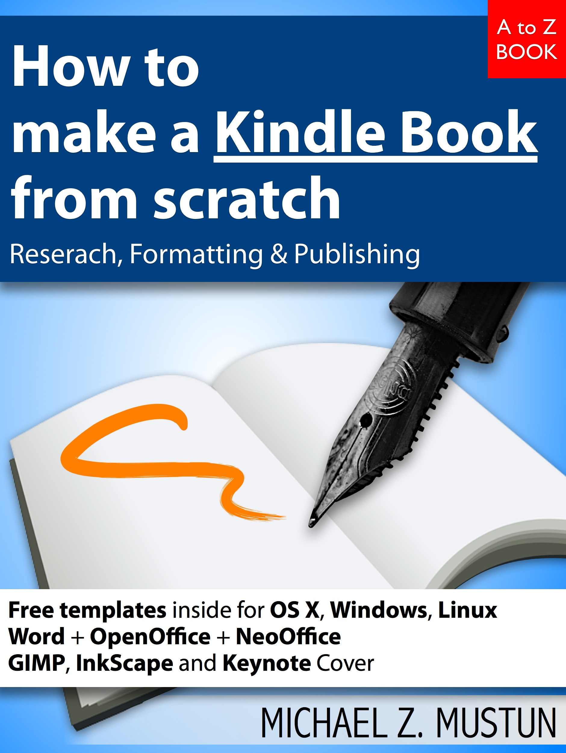 How to make a Kindle Book from scratch - Research, Formatting ...