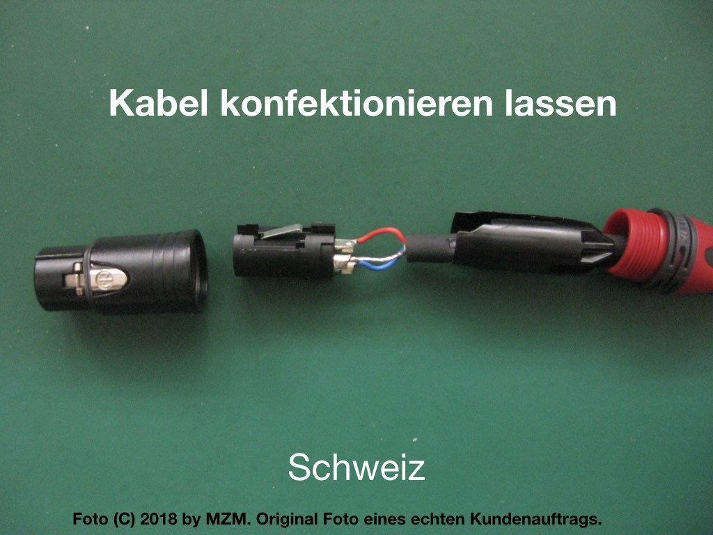 kabel konfektionieren lassen schweiz wetzikon flagsoft. Black Bedroom Furniture Sets. Home Design Ideas